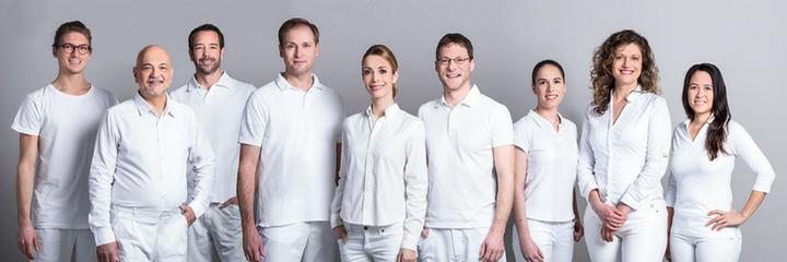 Teambild Bellevue Zahnärzte Zürich